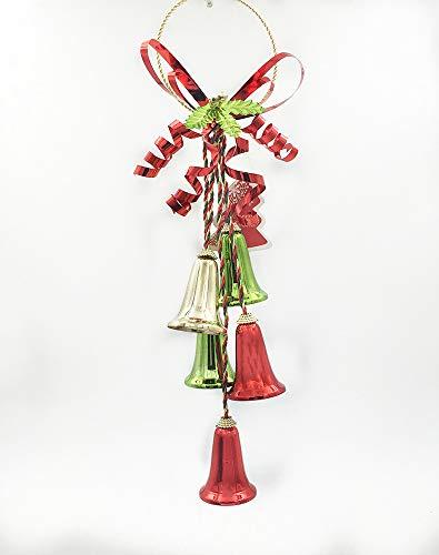 BOSSTER Kerstmis Hangende Klokken Kleurrijke Boom Hangend Ornament voor Vakantie Deel Craft Kits en Kerst benodigdheden