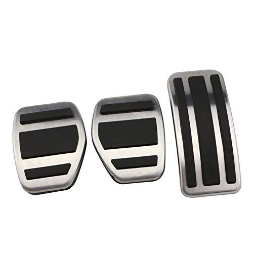 ZLLD Pedales para Coche Gas Modificado Plate Pad Pedal para 207 301 307 208 2008 308 408 para C3 C4 para DS 3 4 6 DS3 DS4 DS6 Freno Combustible de Deporte (Color : MT)