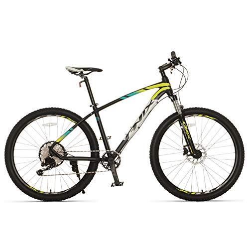 JKCKHA Mountain Bike, Ruote da 27,5 Pollici, 12 velocità, Telaio in Alluminio, Freni A Disco Idraulici, Hardtail,B