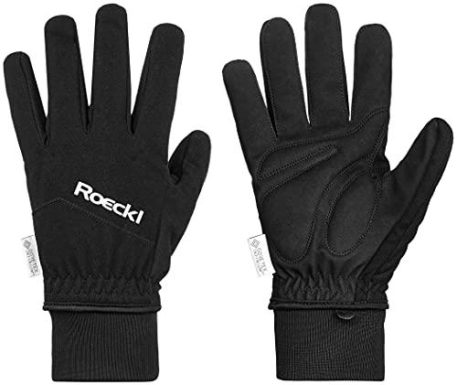 Roeckl WS Fahrrad Handschuhe schwarz Handschuhgröße 9 2021 Fahrradhandschuhe