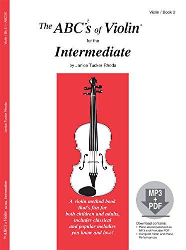 Price comparison product image The ABCs of Violin for the Intermediate,  Book 2 (Book & MP3 / PDF)