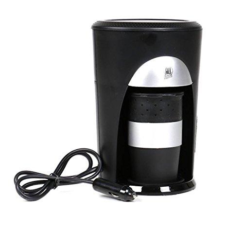 All Ride Kaffeepadmaschine für 1 Tasse, 24 Volt 300 Watt, Kaffeemaschine inkl. Kaffeebecher mit Deckel