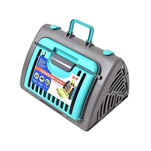 ZHAOJIANHUI Luchtbox voor het verzenden van katten, draagbaar, transporttas voor vliegtuig, hondenkooi, 45 x 35 x 33 cm