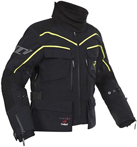 Chaqueta para moto Rukka Energater Gore Tex negro