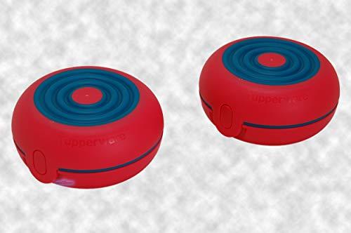 Tupperware® Flexi-Twin 2X die kleine Brotdose rund A146 für Obst, Schnuller, Süßigkeiten usw.