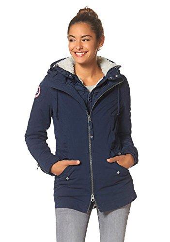 KangaROOS Damen 3in1 Jacke H&Q (36, Blau)