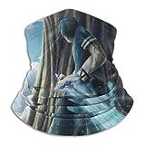 Jiadourun Sword Art Online - Bufanda de microfibra para cuello suave unisex a prueba de viento