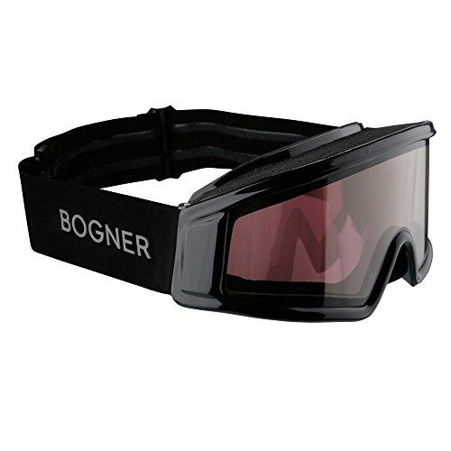 Bogner Snow Goggles Optic | Schwarz | Ski & Snowboard | Hochwertige Qualität | Modell 2018