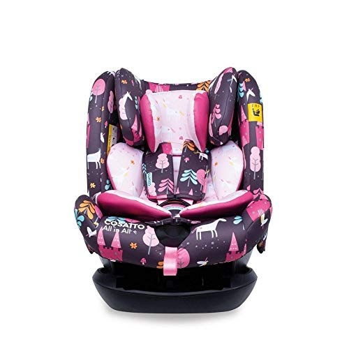 Cosatto All in All + Baby to Child Car Seat - Group 0+123, 0-36 kg, 0-12 years, ISOFIX, Extended...