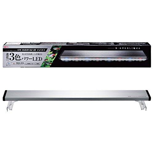 ジェックス クリアLED パワーIII 600 60cm 水槽用3色LED 観賞魚飼育・水草育成用 ライトリフト付