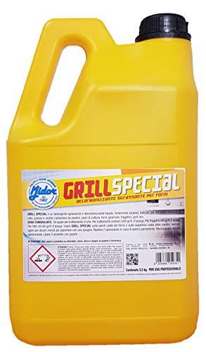 Midor Pulitore forni, Griglie Grill Special 5000ml 5,5 kg, rimuove depositi di Cibo, Grasso e...