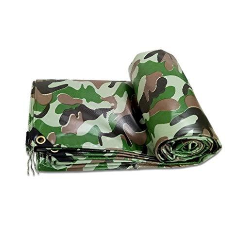 QYQPB De Plein air Bâche de Camouflage grattant la Housse de Protection Anti-poussière de bâche de Toile de Poncho de Chiffon Filet d'ombrage (Size : 3x4M)