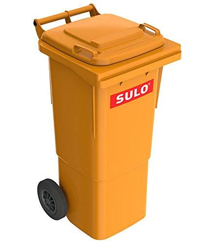 Sulo 60 Liter Mülltonne Abfalltonne Müllgroßbehälter MGB orange