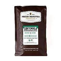 Organic Guatemala Huehuetenango Fair Trade Coffee, Whole Bean coffee, Fresh Roasted Coffee LLC (5 lb.)