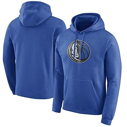 LAFE NBA Suéter Mavericks Lone Ranger suéter de Baloncesto suéter con Capucha suéter Suelto A-S