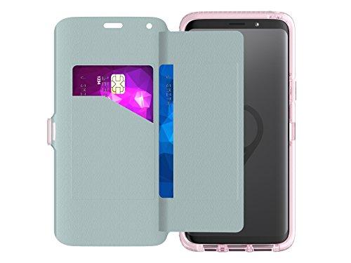 Tech21 Evo Wallet beschermhoes voor Samsung Galaxy S9 - roze