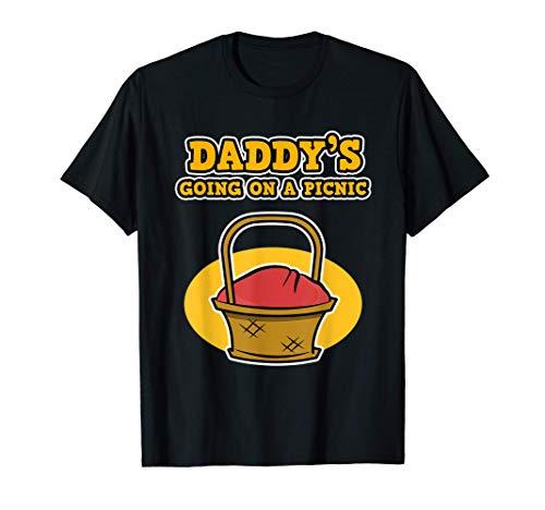 Papa va faire un pique-nique - Fête des pères T-Shirt