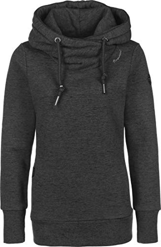 Ragwear Sweater Damen GRIPY Bold 2021-30027 Schwarz Black 1010, Größe:L