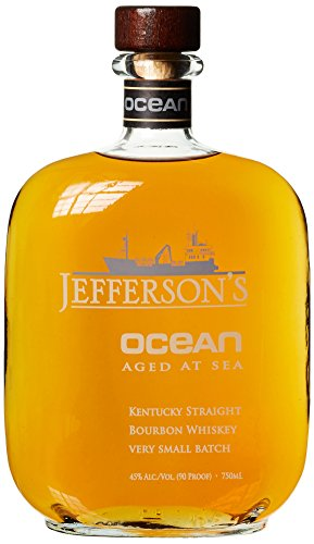 Jefferson's Ocean aged at sea Kentucky Straight Bourbon Whisky Very Small Batch (1 x 0.75 l)