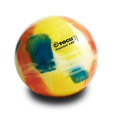 TOGU Powerball ABS - Pelota para Fitness, Multicolor Marble Talla:75