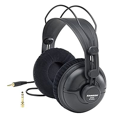 Samson SASR950 Professional Studio Reference Closed Back Headphones from Samson Technologies