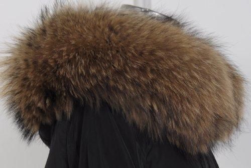 『ファッションコート 大きいアライグマの毛皮の襟』の7枚目の画像