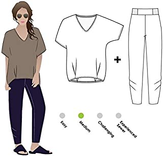 Style Arc Sewing Pattern - Daphne Duo Outfit (Sizes 04-16) - Click for Other Sizes Available