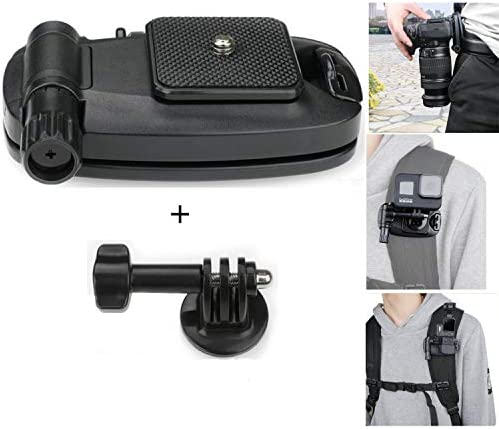 Diskary Camera Clip Waist Belt Holster Backpack Shoulder Strap Buckle Quick Release Clamp Plate product image