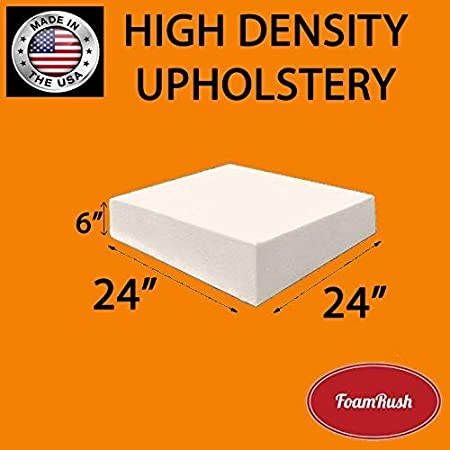 Thick, 60 x 20 Firm Upholstery Foam 10 cm Foam for Sofa Cushion Replacement 4