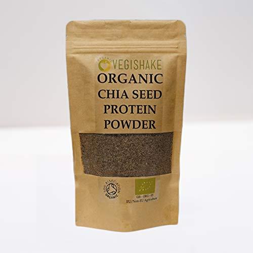 Organic Vegan Chia Seed BCAA Protein 30g Amino Acids Linden Pure Bulk Powder (500g)