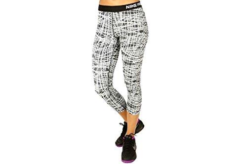 Nike, PRO Cool Tracer Capri-Pantaloni Donna Capri Mezzo Polpaccio