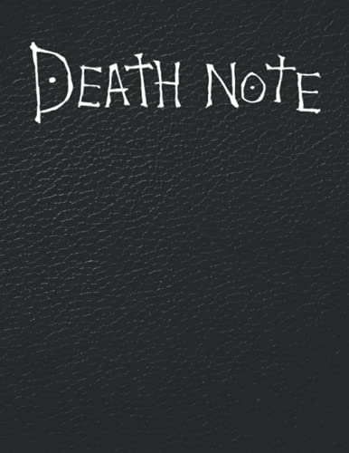 """Death Note Notebook: Journal / Death Note Notebook Replica With Rules (8.5""""x11"""" - College Ruled) Can be used as Composition Notebook, Diary , Planner and Notes . (Death Note Notebooks)"""