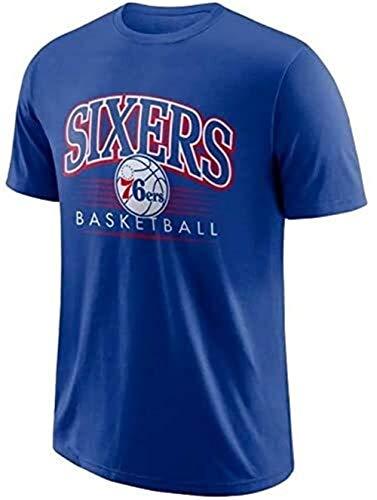 ZSPSHOP Camiseta deportiva holgada de algodón de manga corta Houston Rockets Paul No.3 Camiseta de baloncesto para hombre No.13 (color: azul, tamaño: pequeño)