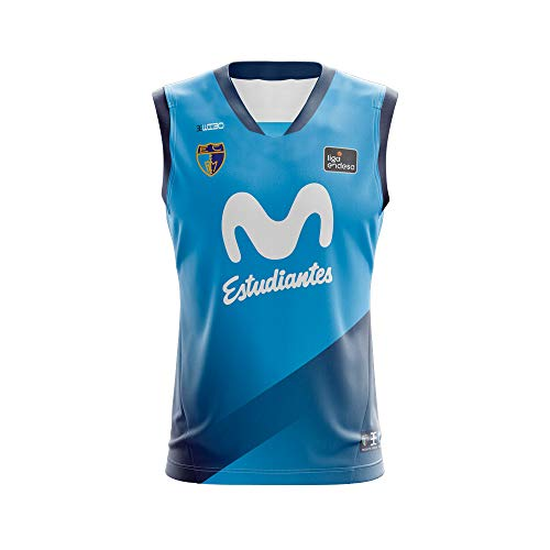 Movistar Estudiantes Camiseta Juego Temporada 19/20 Local Primera Equipación Azul