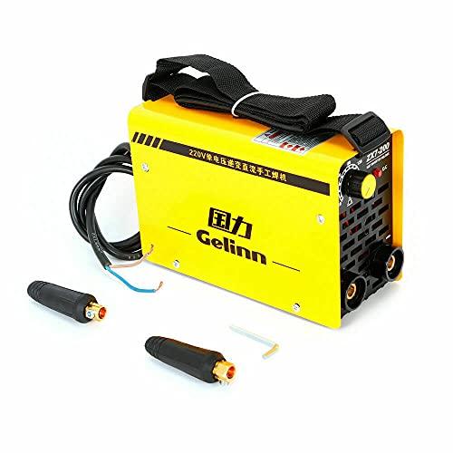 Futchoy Máquina de soldadura Inverter IGBT, 220 V, 40 W, ZX7-200, indicador de soldadura, soldador Welder Inverter, soldador de arco eléctrico
