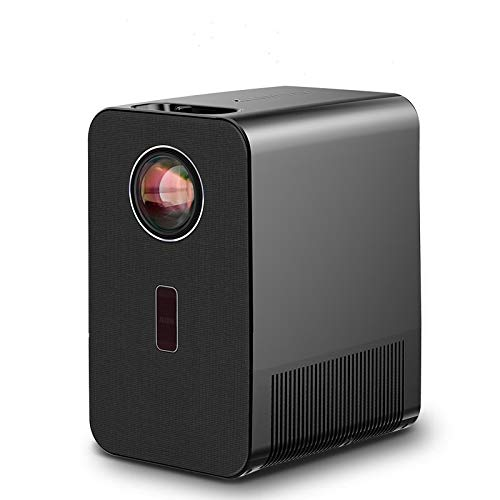 ZHEBEI LED Projektor AKEY7   Full HD 1920x1080P Beamer 4K 1080P Videoprojektor mit HDMI-Anschluss LED TV X96Q Android 10.0 AKEY7