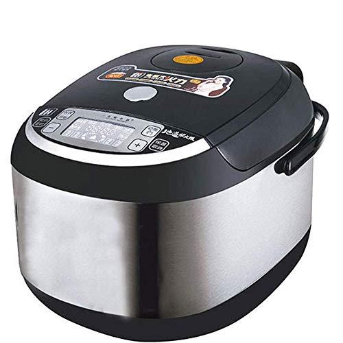 Lcxghs Multi-Funktions-Reiskocher, Smart-IH Reiskocher, Familien Suppe Reiskocher, Kleine Reiskocher, 5L, 10 Kochfunktionen, 24-Stunden-Termin-Timing