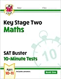 New KS2 Maths SAT Buster 10-Minute Tests - Book 1: superb for year 6 catch-up and learning at home