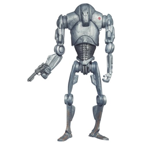 Star Wars Attack of the Clones Super Battle Droid