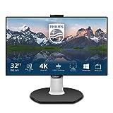 Philips Monitors 329P9H/00, 32'' UHD, 60Hz, IPS, FlickerFree (3840x2160, 350 cd/m, HDMI 2x2.0, Displayport 1.2), negro