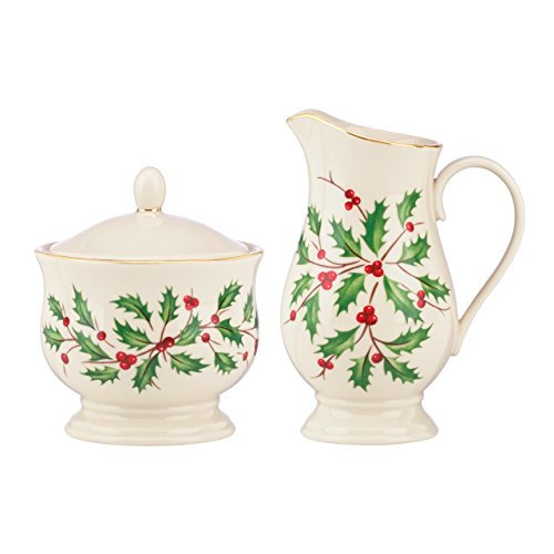 Lenox Holiday Sugar & Creamer Set