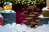 Desert Steel Pinecone Luminary - (Small, Brown) - Indoor/Outdoor Pince Cone Metal Candle Holder Decoration