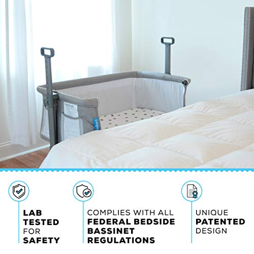 Milliard Bedside Bassinet Side Sleeper Portable Infant Crib