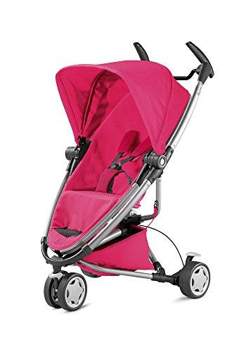 Quinny Zapp Xtra 2 Buggy mit viel Zubehör - sehr klein zusammenfaltbar, leicht und komfortabel, pink [Auslaufmodell]