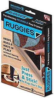 4pcs/Set Reusable Washable Rug Carpet Mat Non-Slip Sticker Silicone For Home Bath Living Room Pads Anti Slip
