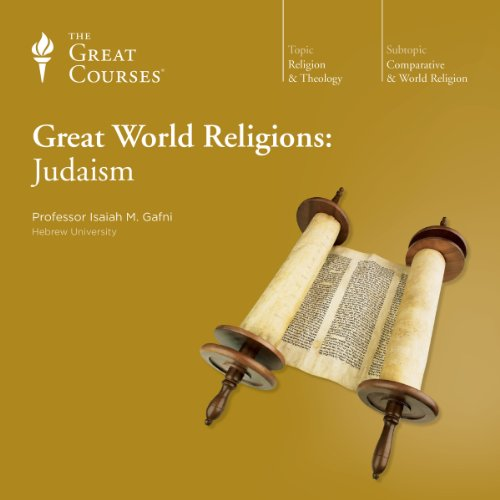 Great World Religions: Judaism audiobook cover art