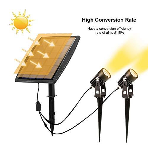 STHfficial LEDGLE IP65 buitenverlichting waterdicht buitenlamp gazon voor tuin A LED zonnelamp van hoge kwaliteit