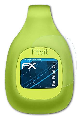 atFoliX Schutzfolie kompatibel mit Fitbit Zip Folie, ultraklare FX Bildschirmschutzfolie (3X)
