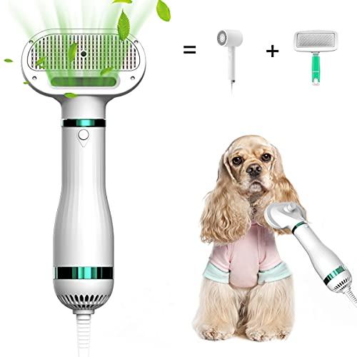 DREAMSOULE Haartrockner Bürste für Hunde, Hundefön