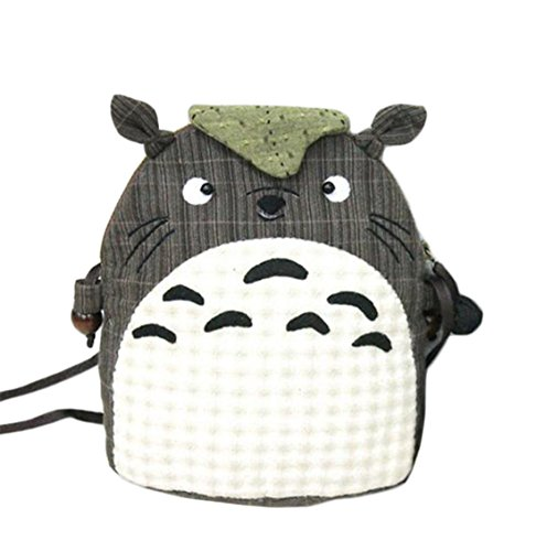 Totoro Crossbody Shoulder Bag Sewing Kit Childhood Memory Home Sewing Project Kit (Big)